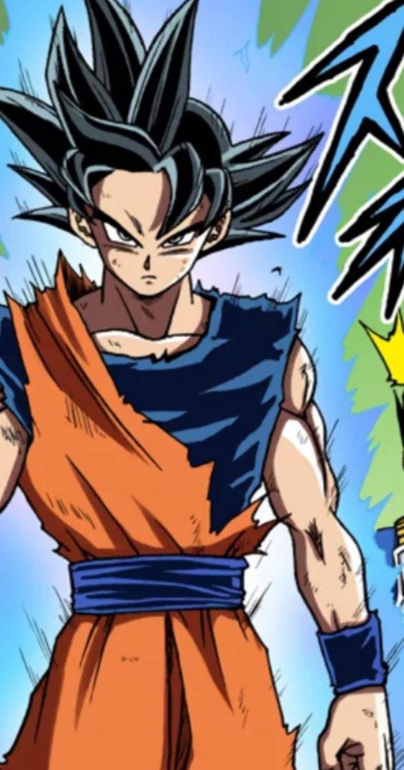 Các cấp độ sức mạnh của Goku khi được lên màu trong manga, fan thốt lên nhìn chất thật - Ảnh 5.