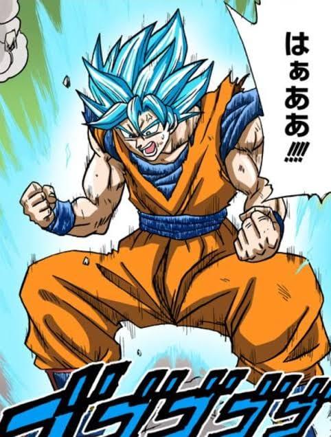 Các cấp độ sức mạnh của Goku khi được lên màu trong manga, fan thốt lên nhìn chất thật - Ảnh 4.