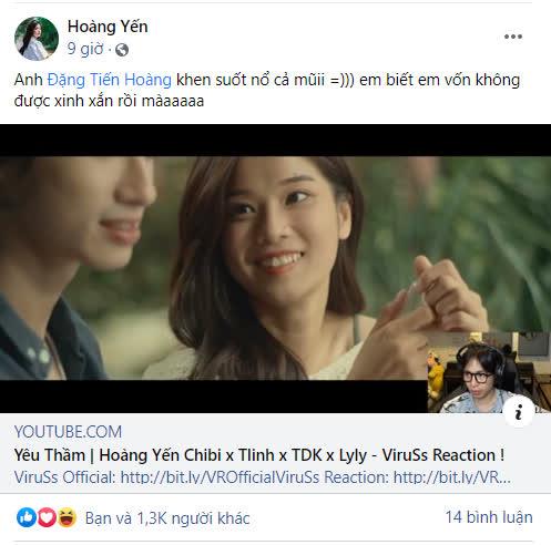 """ViruSs liên tục khen Hoàng Yến Chibi """"sexy sexy gợi cảm"""", girl 1 champ """"best Điêu Thuyền"""" lập tức phản hồi - Ảnh 2."""