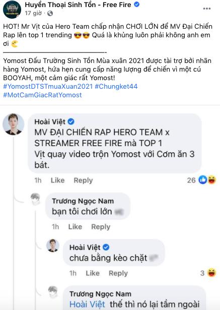 """Leader Hero Team đánh tiếng quay MV thử thách cực dị, fan """"lót dép"""" hóng dần - Ảnh 3."""