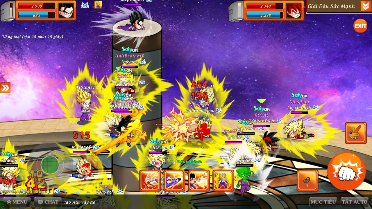 Khi bạn là học sinh giỏi nhưng cứ phải chơi game: Fan Dragon Ball trao đổi chiêu thức Hóa Học khiến cả server... đau hết cả đầu - Ảnh 4.