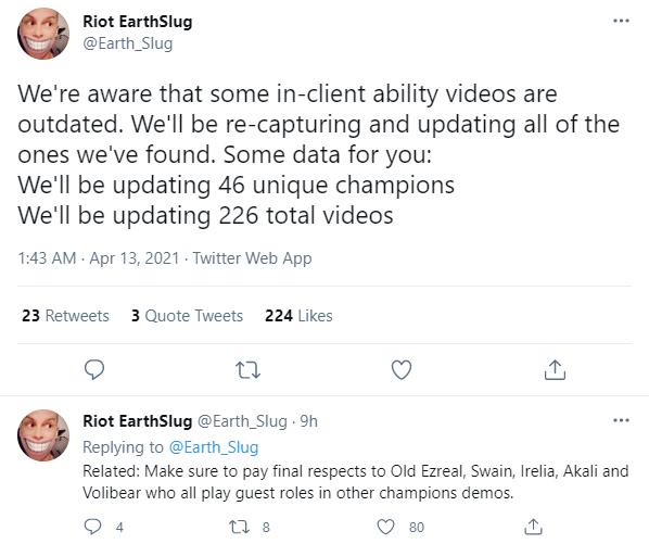 Bị cộng đồng LMHT ném đá quá nhiều, Riot cuối cùng cũng chịu cập nhật hơn 200 video giới thiệu tướng - Ảnh 8.