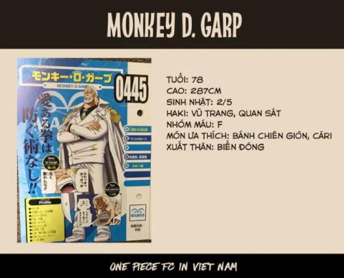 One Piece: Có thể sánh ngang với Vua hải tặc Roger, liệu ông nội Luffy có Haki bá vương hay không? - Ảnh 3.