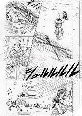 Spoil Dragon Ball Super chap 71: Whis huấn luyện con cưng Goku cấp tốc, chuẩn bị ứng chiến với Granola - Ảnh 2.