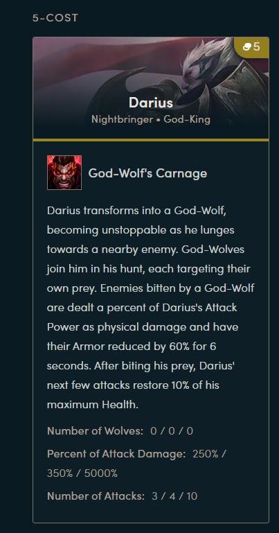 Những lý do khiến Darius và Garen sẽ là 2 quân cờ mạnh nhất Đấu Trường Chân Lý mùa 5: Ngày Phán Quyết - Ảnh 3.