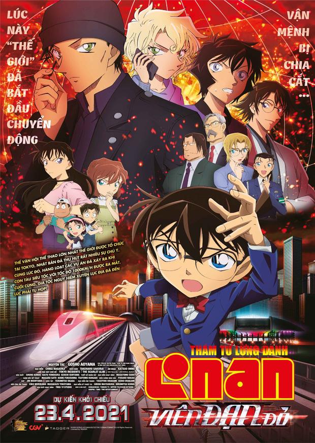 Phần phim Conan mới nhận mưa chỉ trích vì Shinichi toàn cặp kè với Haibara, Ran bị đá ra chuồng gà - Ảnh 1.