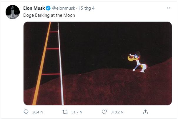 Elon Musk đăng 1 bức biếm họa, tiền ảo Dogecoin tăng 248% chỉ sau 1 ngày - Ảnh 1.