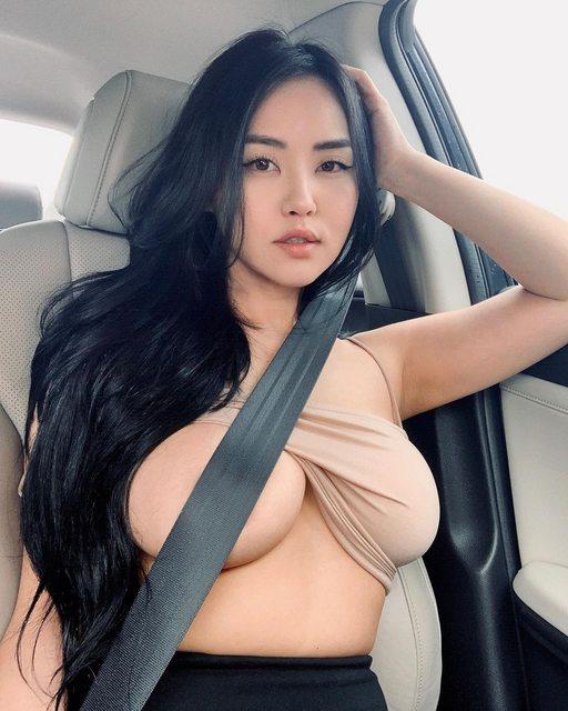 Dùng dây an toàn che chắn vùng nhạy cảm - trào lưu mới đang gây tranh cãi của các cô gái xinh đẹp - Ảnh 3.