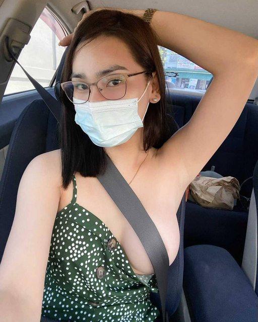 Dùng dây an toàn che chắn vùng nhạy cảm - trào lưu mới đang gây tranh cãi của các cô gái xinh đẹp - Ảnh 7.