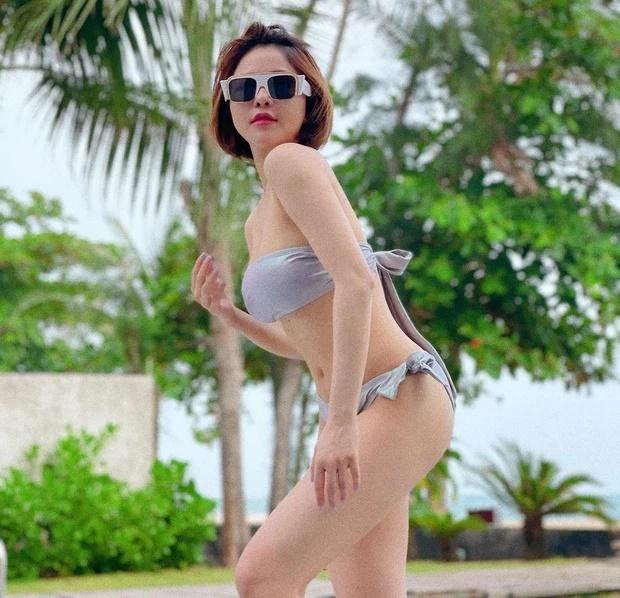 Khoe ảnh nóng bỏng với bikini trên biển, Trâm Anh khiến CĐM phải bỏng mắt, hết lời khen ngợi nhan sắc - Ảnh 2.
