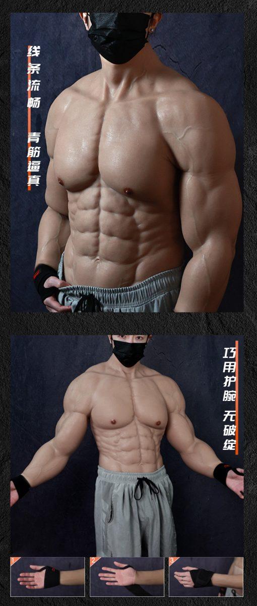 Cận cảnh áo 6 múi không hề giả trân dành cho game thủ ngại tập gym nhưng vẫn muốn có cơ bắp cuồn cuộn - Ảnh 2.