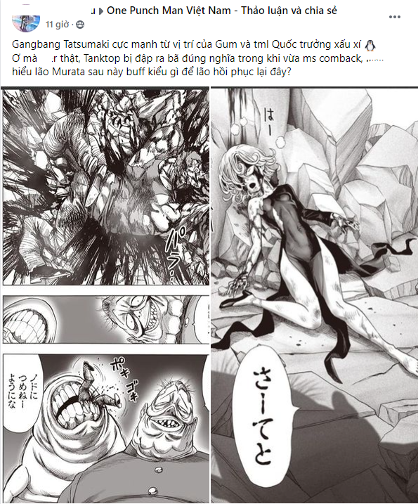 One Punch Man: CĐM kinh ngạc trước sức mạnh của Hiệp hội quái vật, King được triệu hồn để giải vây cho phe anh hùng - Ảnh 1.