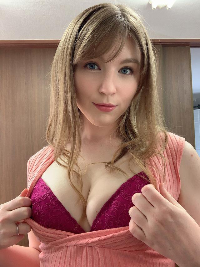 Hot girl siêu vòng ba người Mỹ lên tiếng chê bai ngành 18+ Nhật Bản, cho rằng 2021 rồi còn che chắn - Ảnh 1.