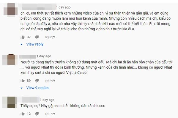 Sốc! Nữ YouTuber Việt Nam gần 4 triệu lượt subs quay video công khai ăn thịt động vật hoang dã - Ảnh 5.