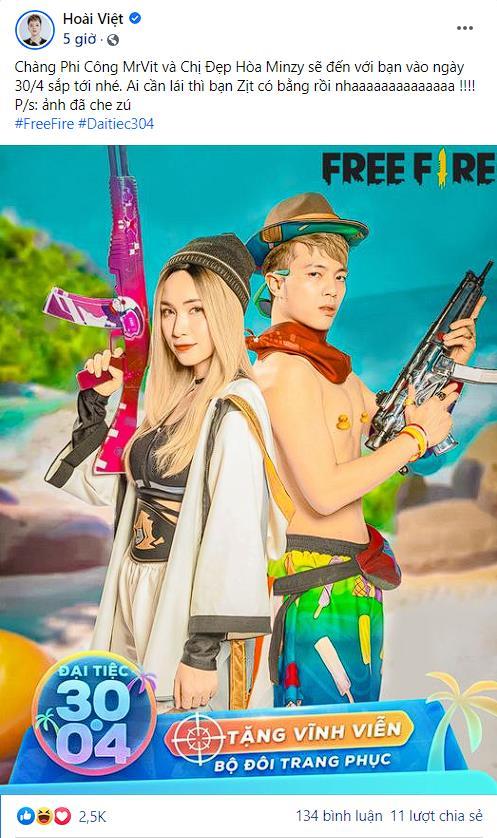 Nam Vương Free Fire – Cuộc chạy đua nhằm chôm chôm trái tim chị đẹp Hòa Minzy - Ảnh 5.