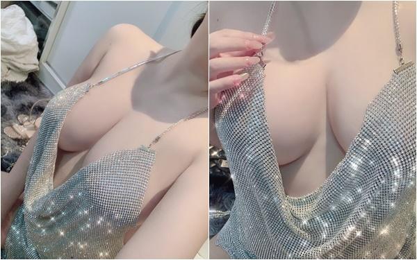 Vạch áo khoe ngực đầy phản cảm, nàng hot girl xinh đẹp nhận vô số gạch đá, bao biện với lý do khó đỡ - Ảnh 4.