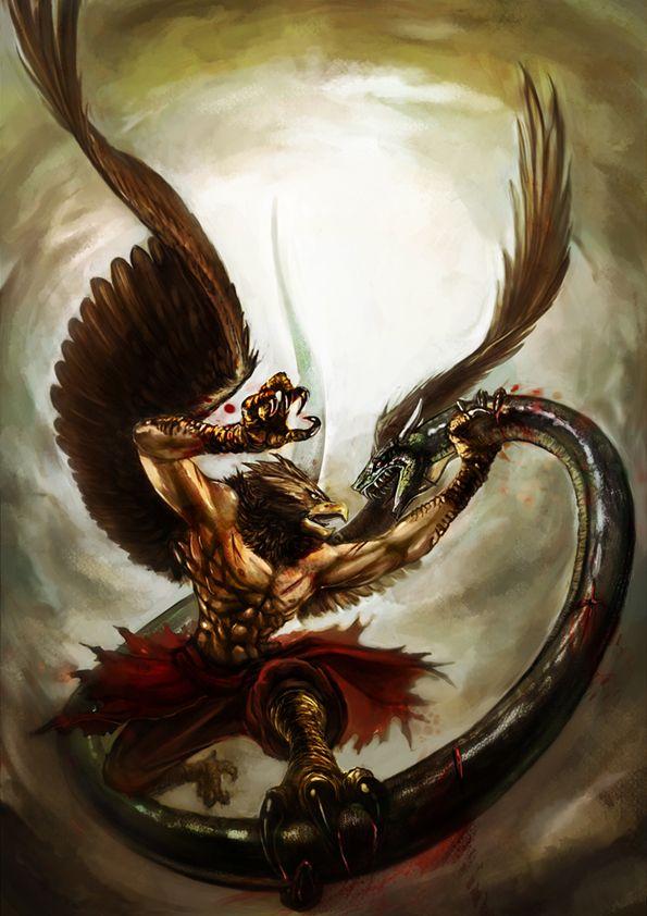 Những thần thú đầy quyền lực trong thần thoại Ấn Độ - Ảnh 5.