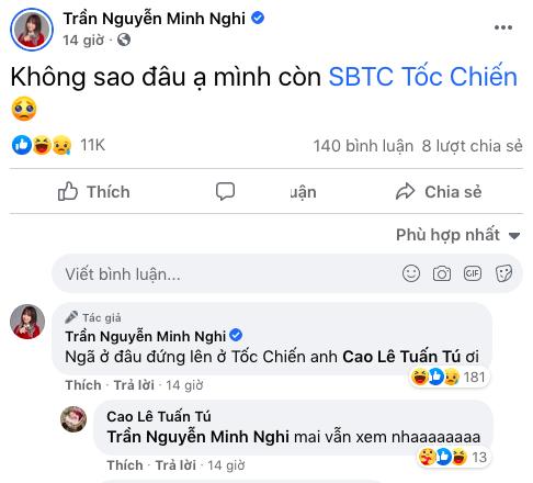Minh Nghi an ủi ông bầu SBTC Esports: Ngã ở đâu, đứng lên ở Tốc chiến! - Ảnh 2.