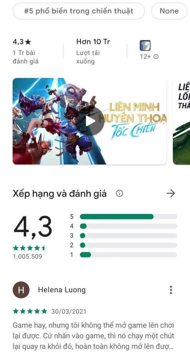 """Nhìn vị trí Tốc Chiến tại Việt Nam và nước ngoài, nghĩ đến thứ văn hóa xấu xí """"rate 1 sao"""" của game thủ Việt - Ảnh 6."""