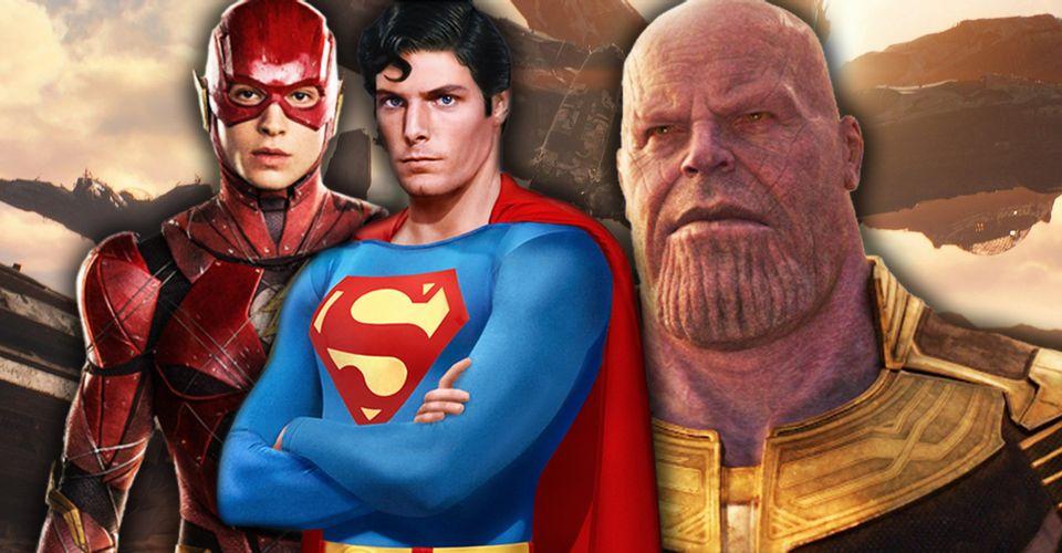 Đảo ngược thời gian trong phim siêu anh hùng: Flash và Superman đầy lỗ hổng, Thanos cực kỳ thuyết phục