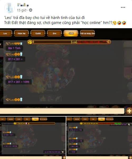 Dùng vòi xịt làm mic, học toán online trên kênh chat ingame: Game thủ Gun Gun quả thật quá sức lầy lội - Ảnh 5.
