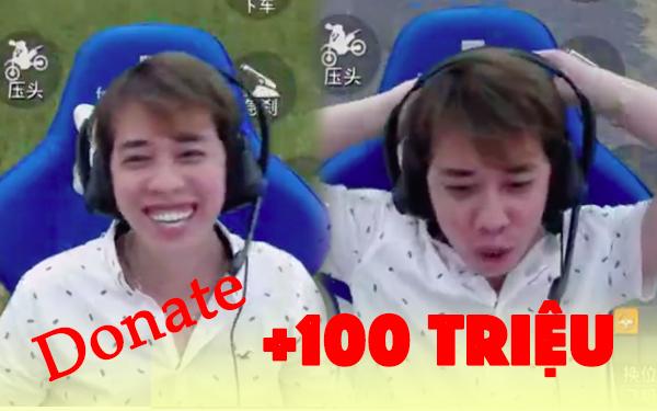 """""""Đứng hình 5 giây, Nam Blue được fan cứng """"mạnh tay donate 100 triệu đồng - Ảnh 3."""