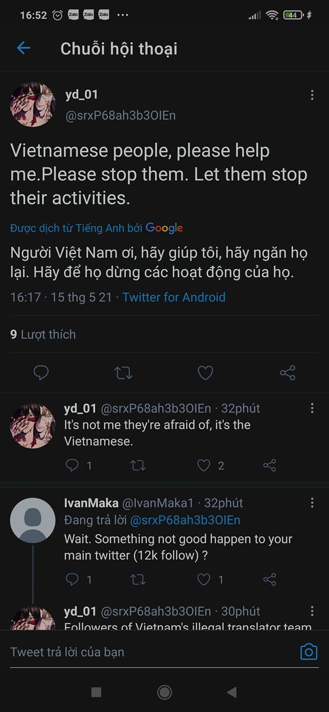 Vừa tuyên bố khởi kiện nhóm dịch lậu Việt Nam, tác giả webtoon 18+ lập tức bị... report bay tài khoản MXH - Ảnh 6.