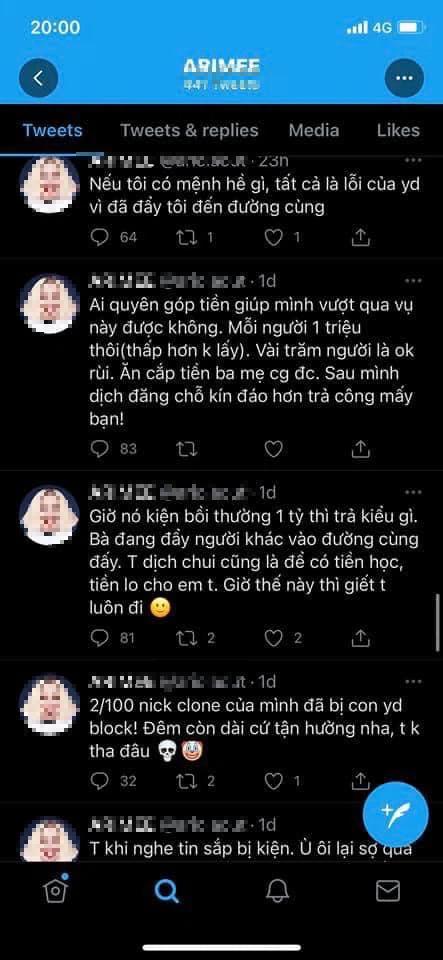 Vừa tuyên bố khởi kiện nhóm dịch lậu Việt Nam, tác giả webtoon 18+ lập tức bị... report bay tài khoản MXH - Ảnh 8.