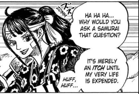Cùng soi những chi tiết thú vị trong One Piece chap 1012: Cửu Hồng Bao tách nhóm, Denjiro đã đi đâu? - Ảnh 2.