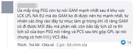 PSG lập kỳ tích tại MSI 2021, cộng đồng LMHT Việt bùng nổ tranh cãi dữ dội: GAM Esports liệu có ngang kèo đại diện PCS? - Ảnh 5.