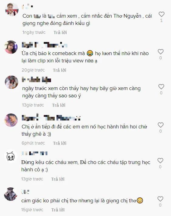 """""""Comeback"""" trở lại nhưng lượt view sụt giảm, Thơ Nguyễn làm video búp bê, công khai đòi fan """"cày"""" view khiến phụ huynh bức xúc - Ảnh 4."""
