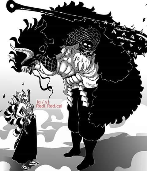 Fan One Piece phấn khích với bức ảnh Yamato biến hình, cùng Luffy đối đầu Kaido - Ảnh 4.