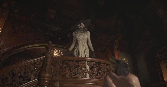Cảm nhận khi gặp Lady Dimitrescu chưa đủ sợ hãi, game thủ Resident Evil làm ngay bản mod biến nữ vương ma cà rồng trở thành bạo chúa MR.X - Ảnh 3.