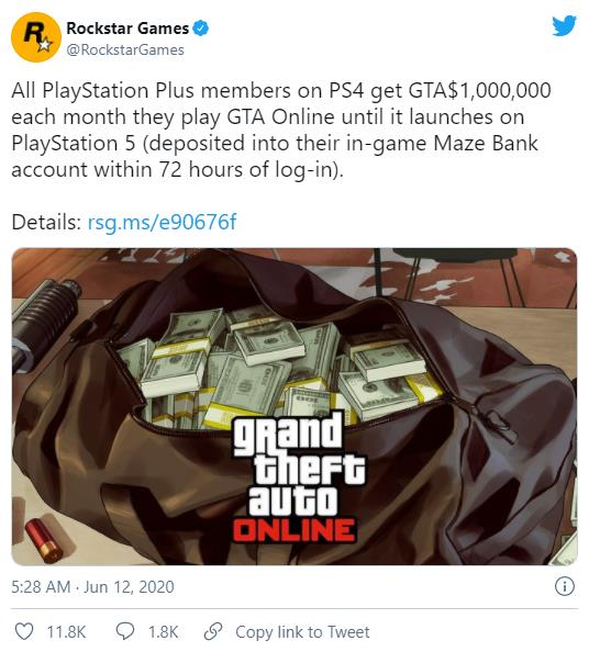 """GTA5 - Không vội ra mắt phiên bản mới vì """"gà cưng"""" đẻ trứng chưa hết, Rockstar phát hành riêng GTA Online cho game thủ - Ảnh 2."""