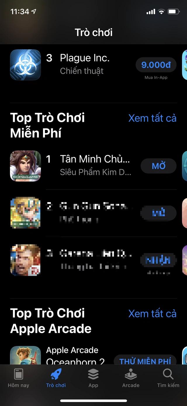 Tân Minh Chủ All Kill BXH trên App Store, độc chiếm TOP 1 Game Hay cho Kỳ Nghỉ Lễ - Ảnh 4.