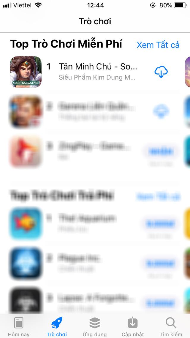 Tân Minh Chủ All Kill BXH trên App Store, độc chiếm TOP 1 Game Hay cho Kỳ Nghỉ Lễ - Ảnh 3.