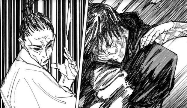 Spoil Jujutsu Kaisen chap 149: Giúp chị gái đánh bại cha mình, Mai hy sinh mạng sống để tạo ra vũ khí tối thượng - Ảnh 1.