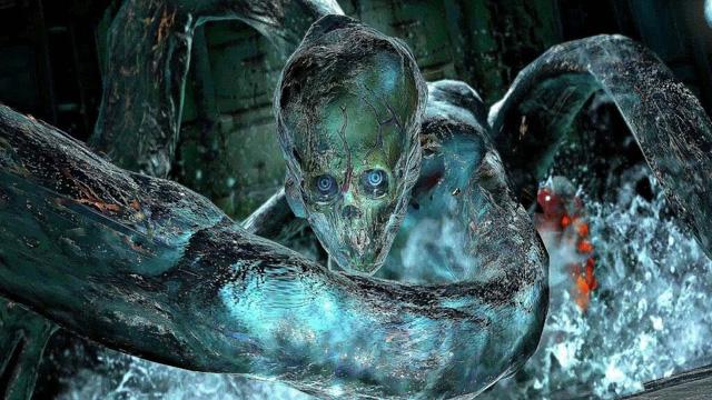 Những con trùm khổng lồ với ngoại hình kinh dị, khiến người chơi mất ngủ trong Resident Evil (P.2) - Ảnh 10.