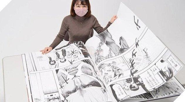 Attack On Titan nhận kỷ lục Guinness Cuốn manga khổng lồ nhất thế giới chỉ sau 2 phút phát hành - Ảnh 2.