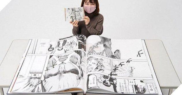 Attack On Titan nhận kỷ lục Guinness Cuốn manga khổng lồ nhất thế giới chỉ sau 2 phút phát hành - Ảnh 4.