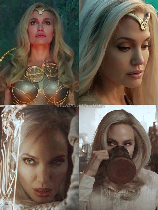 Eternals: CĐM hết lời khen ngợi visual quá đỉnh của Angelina Jolie khi vào vai nữ chiến binh Thena - Ảnh 1.