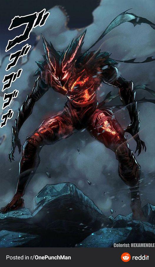 Phiên bản quái vật Garou của Murata đã chính thức xuất hiện trong One Punch Man - Ảnh 2.