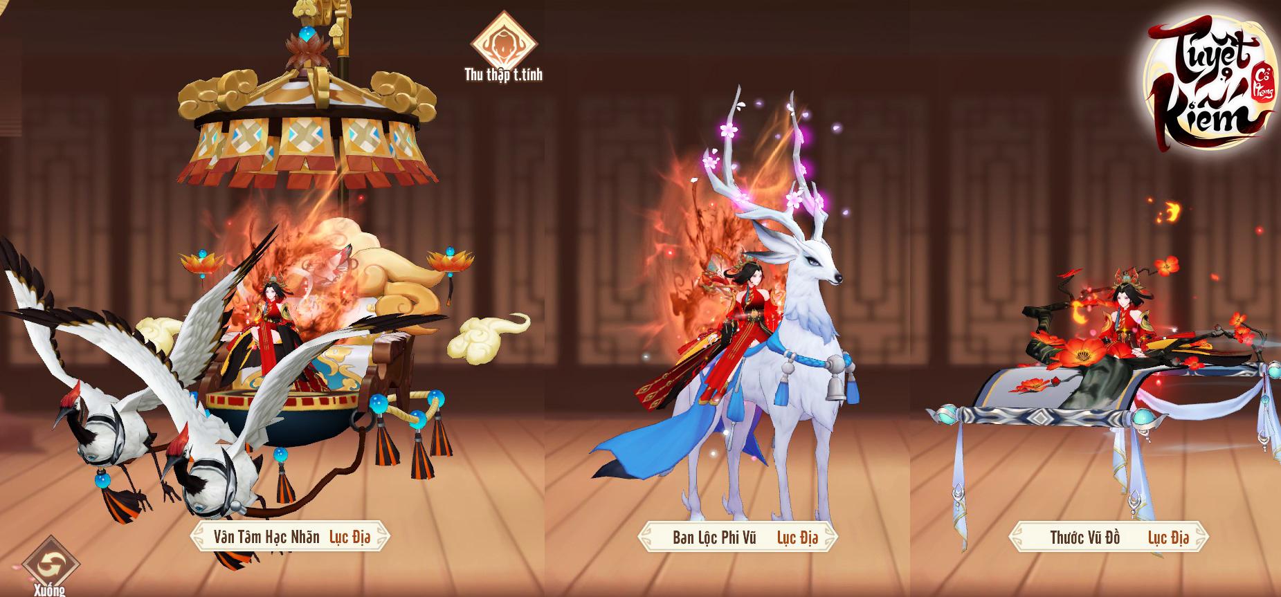 Choáng với kho tọa kỵ, pet đồng hành của Tuyệt Kiếm Cổ Phong: 6 cấp tiến hóa, biến đổi ngoại hình cực xịn sò - Ảnh 12.