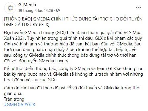 Huấn luyện viên của GMedia Luxury bị VCS ban 2 năm vì tham gia cá cược - Ảnh 2.