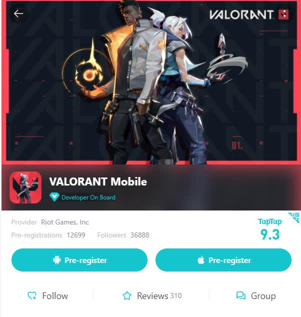 Game thủ Việt phát hiện dự án Valorant Mobile, có rất nhiều lượt đăng ký trước và sự thật đằng sau - Ảnh 1.