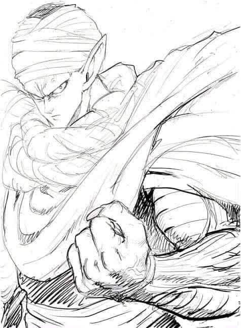 Các nhân vật trong Dragon Ball được vẽ bởi tác giả One Punch Man sẽ ngầu như thế nào? - Ảnh 6.