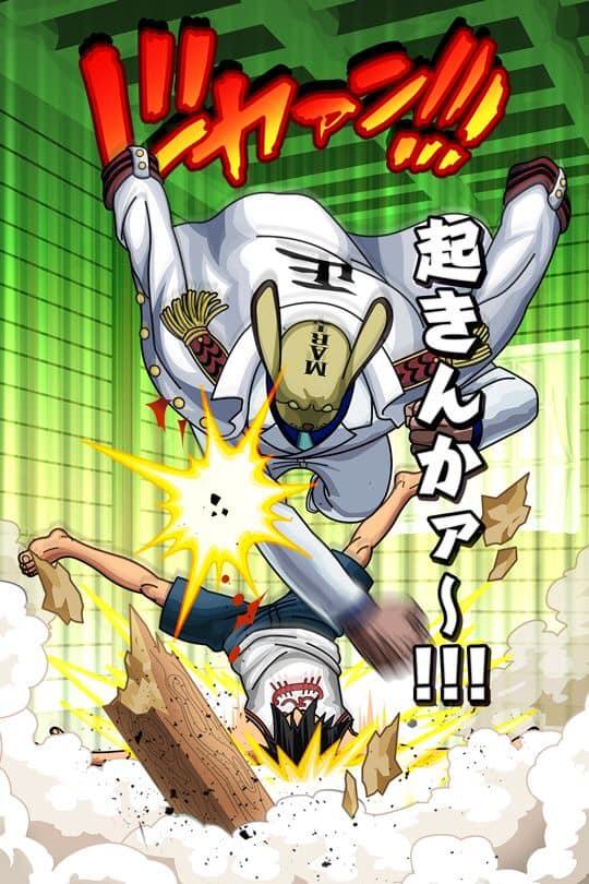 One Piece: Với sức mạnh hiện tại liệu Luffy đã đủ sức để hứng chịu cú đấm yêu thương của ông nội Garp? - Ảnh 1.