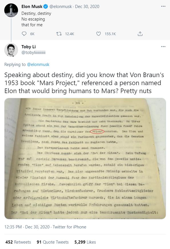 Thật trùng hợp, một cuốn sách năm 1953 từng nói người tên Elon sẽ dẫn dắt con người chinh phục Sao Hỏa - Ảnh 2.