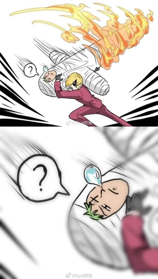 One Piece: Với thập tự kiếm di động Zoro trên người, nhiều fan hài hước cho rằng Sanji trông giống như kiếm sĩ đệ nhất Mihawk - Ảnh 1.