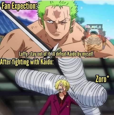One Piece: Với thập tự kiếm di động Zoro trên người, nhiều fan hài hước cho rằng Sanji trông giống như kiếm sĩ đệ nhất Mihawk - Ảnh 5.
